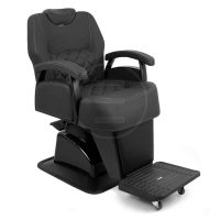 Scaun frizerie / barber chair Alpeda Hercules black edition A