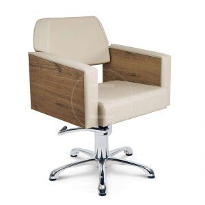 Scaun coafor / styling chair ALPEDA NOVA NATURE