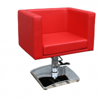 Scaun coafor/ styling chair MASSA rosu