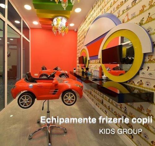 Mobilier frizerie copii